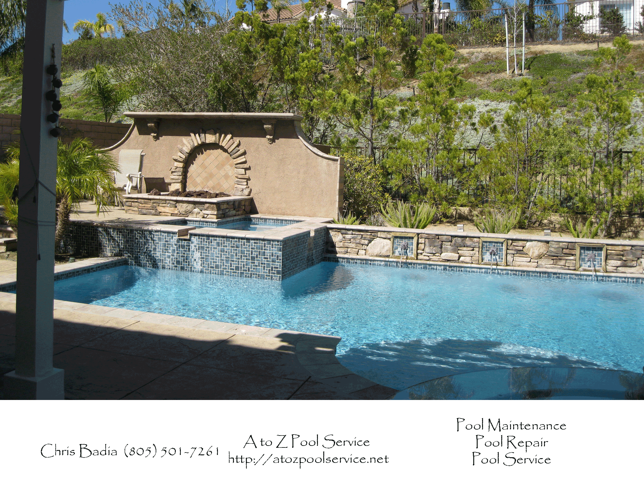 Residential & Commercial Swimming Pool Service